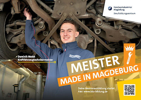 Dominik Moldt  - Meister made in Magdeburg