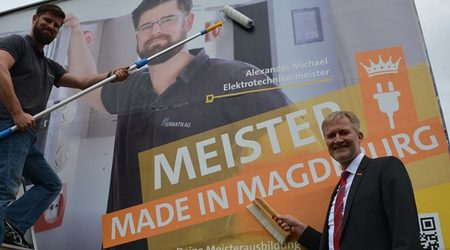 Meister made in Magdeburg - A. Michael